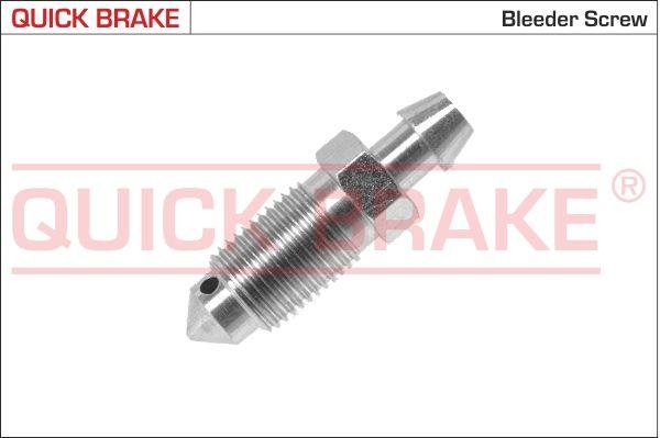 NISSAN MICRA 2012 Befestigungsmaterial - Original QUICK BRAKE 0017