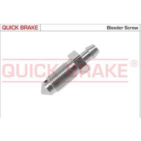 0019 QUICK BRAKE Ventilationsskruv / -ventil 0019 köp lågt pris