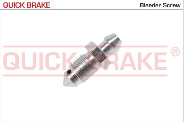 Pieces detachees VOLKSWAGEN ID.3 2021 : Soupape / vis de purge d'air QUICK BRAKE 0039 - Achetez tout de suite!