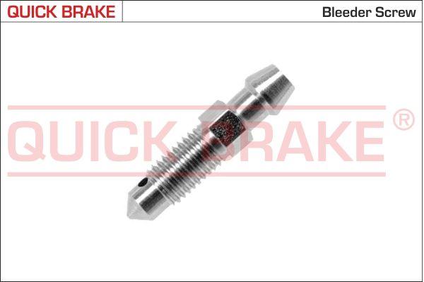 MAZDA TRIBUTE 2011 Befestigungsmaterial - Original QUICK BRAKE 0086