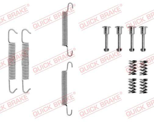 QUICK BRAKE: Original Zubehörsatz, Feststellbremsbacken 105-0621 ()