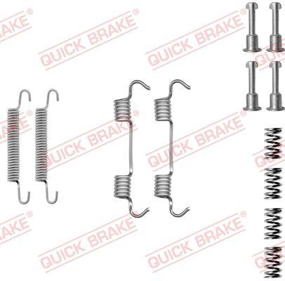 QUICK BRAKE: Original Zubehörsatz Bremsbacken 105-0801 ()