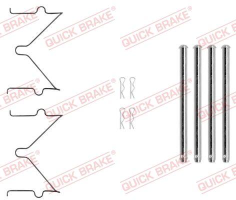 QUICK BRAKE: Original Zubehörsatz, Scheibenbremsbelag 109-0040 ()