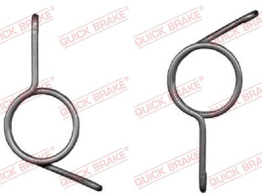 Acheter Kit de réparation, axe de frein de stationnement QUICK BRAKE 113-0519 à tout moment