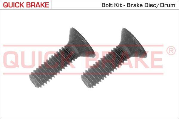 QUICK BRAKE: Original Schraube, Bremsscheibe 11622K ()