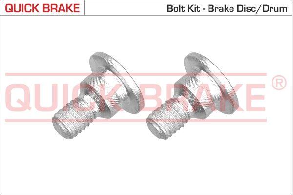 OE Original Schraube, Bremsscheibe 11660K QUICK BRAKE