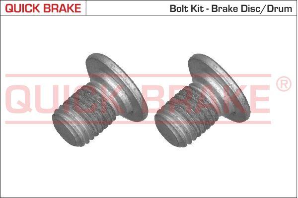 QUICK BRAKE: Original Schraube, Bremsscheibe 11661K ()