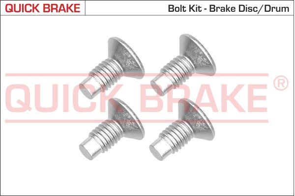 QUICK BRAKE: Original Schraube, Bremsscheibe 11663K ()