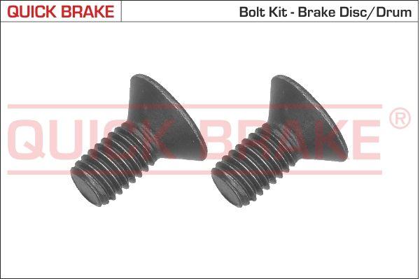 QUICK BRAKE: Original Schraube, Bremsscheibe 11665K ()