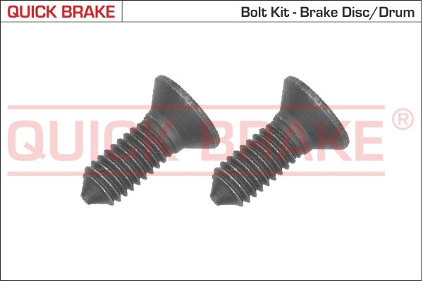 QUICK BRAKE: Original Schraube, Bremsscheibe 11667K ()