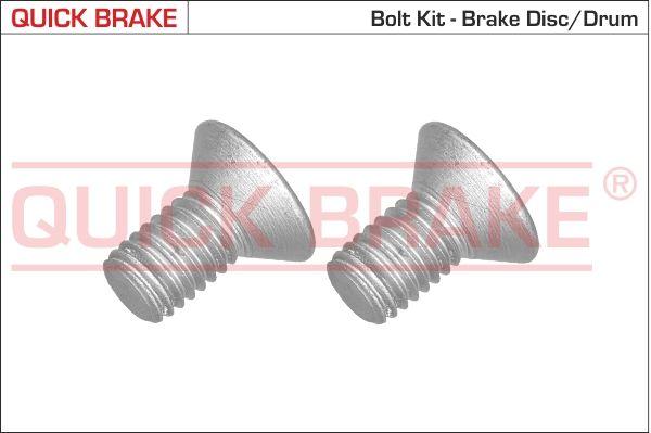 QUICK BRAKE: Original Schraube, Bremsscheibe 11669K ()