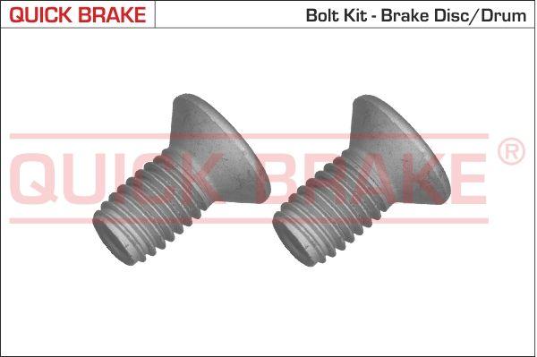 QUICK BRAKE: Original Schraube, Bremsscheibe 11670K ()