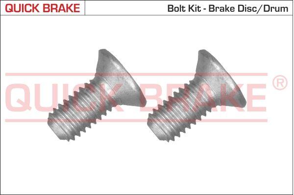 QUICK BRAKE: Original Schraube, Bremsscheibe 11671K ()
