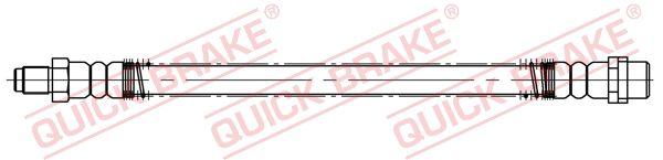 MERCEDES-BENZ GLK 2012 Bremsschläuche - Original QUICK BRAKE 32.512 Länge: 305mm, Gewindemaß 1: M10x1, Gewindemaß 2: M10x1