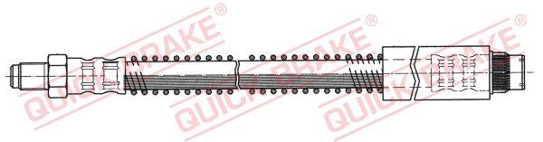 32.981 QUICK BRAKE Länge: 318mm, Gewindemaß 1: M10x1, Gewindemaß 2: M10x1 Bremsschlauch 32.981 günstig kaufen