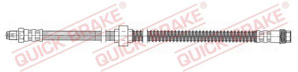 NISSAN INTERSTAR 2018 Rohre und Schläuche - Original QUICK BRAKE 37.911 Länge: 554mm, Gewindemaß 1: M10x1, Gewindemaß 2: M10x1