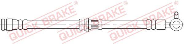 MAZDA CX-5 2014 Rohre und Schläuche - Original QUICK BRAKE 59.804 Länge: 463mm