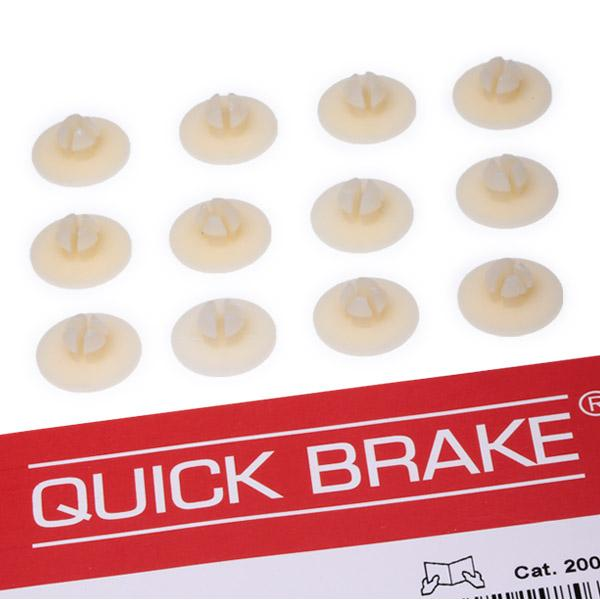 QUICK BRAKE: Original Zubehörsatz, Feststellbremsbacken 6858K ()