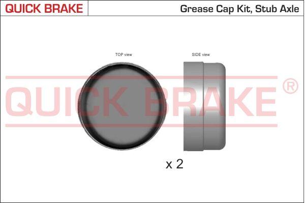 Колесен лагер 9823K QUICK BRAKE — само нови детайли