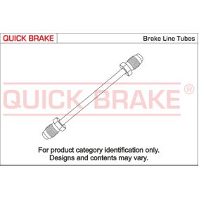 CU-0230TX-TX QUICK BRAKE Bremsleitung CU-0230TX-TX günstig kaufen