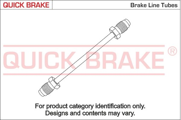BMW 02 Bremsleitungssatz - Original QUICK BRAKE CU-1550A-A