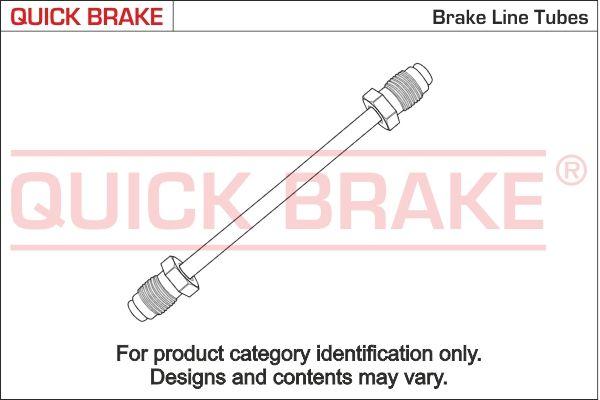 OPEL SENATOR Bremsleitungssatz - Original QUICK BRAKE CU-1900A-A