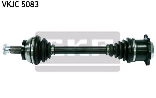 VW POLO 2015 Gelenkwelle - Original SKF VKJC 5083 Länge: 470mm, Außenverz.Radseite: 36