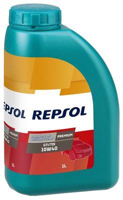 Achat de RP080X51 REPSOL PREMIUM, GTI/TDI 10W-40, 1I, Huile en partie synthétique Huile moteur RP080X51 pas chères