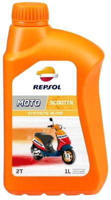 REPSOL MOTO, Sintetico 2T Motorolja 1l, Mineralolja RP150W51 PUCH