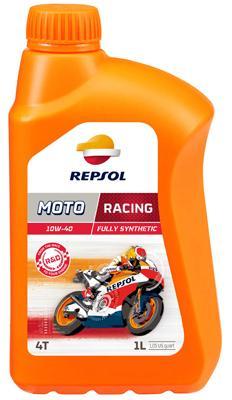 REPSOL MOTO, Racing 4T Olej silnikowy 10W-40, 1l, Olej syntetyczny RP160N51 SYM