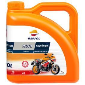 Moto REPSOL MOTO, Sintetico 4T 10W-40, 4l, Helsyntetisk olja Motorolja RP163N54 köp lågt pris