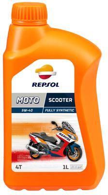 Achat de Moto REPSOL MOTO, Scooter 4T 5W-40, 1I, Huile en partie synthétique Huile moteur RP164L51 pas chères