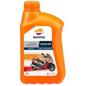Moto REPSOL MOTO, Scooter 4T 5W-40, 1l, Delsyntetolja Motorolja RP164L51 köp lågt pris