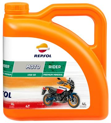 Achat de Moto REPSOL MOTO, Rider 4T 15W-50, 4I, Graisse minérale Huile moteur RP165M54 pas chères
