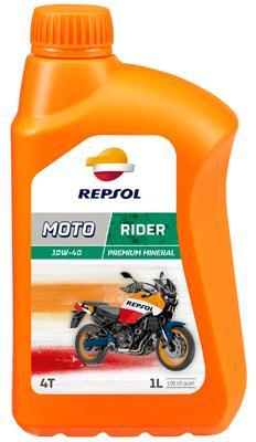 Moto REPSOL MOTO, Rider 4T 10W-40, 1L, Mineraal olie Motorolie RP165N51 koop goedkoop