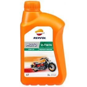Moto REPSOL MOTO, V-Twin 4T 20W-50, 1l, Mineralöl Motoröl RP168Q51 günstig kaufen