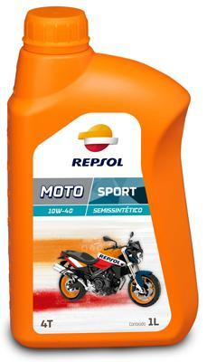REPSOL MOTO, Sport 4T Olej silnikowy 10W-40, 1l, Olej półsyntetyczny RP180N51 SYM