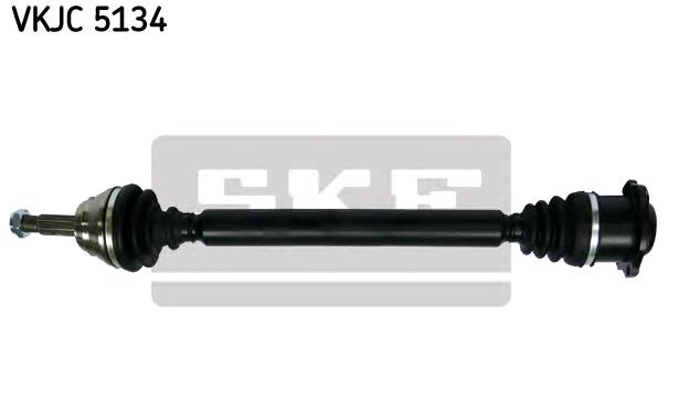VW LUPO 2003 Antriebswellen - Original SKF VKJC 5134 Länge: 712mm, Außenverz.Radseite: 22
