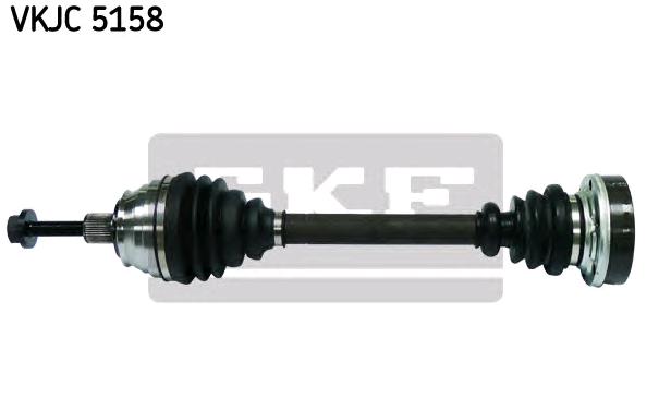 VW TRANSPORTER 2016 Antriebswelle - Original SKF VKJC 5158 Länge: 532mm, Außenverz.Radseite: 38