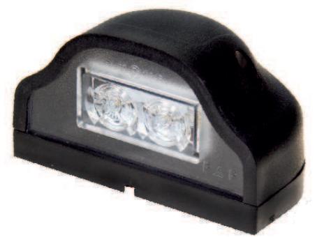 Luce della targa 40165404 PROPLAST — Solo ricambi nuovi