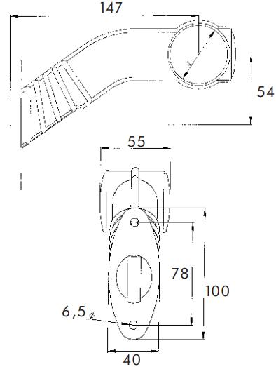 Frecce laterali 40107004 PROPLAST — Solo ricambi nuovi