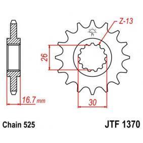 JTSPROCKETS JTF1370.16