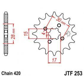 JTSPROCKETS JTF253.12