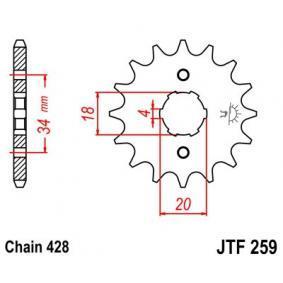 JTSPROCKETS JTF259.14