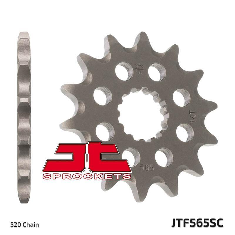 JTSPROCKETS Koło łańcuchowe małe napędzające JTF565.13SC KAWASAKI