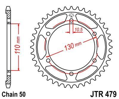 JTSPROCKETS JTR479.43