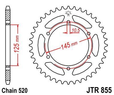 JTSPROCKETS JTR855.48