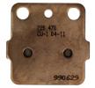 NHC Brake Pad Set, disc brake H1019-CU1 HUSQVARNA