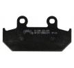 NHC Stabdžių trinkelių rinkinys, diskinis stabdys H1046-AK150 CAGIVA