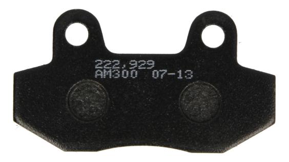 NHC Zestaw klocków hamulcowych, hamulce tarczowe H1052-AM300 MZ